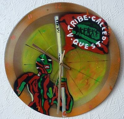 A TRIBE CALLED QUEST..  Record Wall Clock....WU-TANG.. Tu Pac.. Rap Artists  • 18.99£