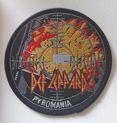 Def Leppard - Pyromania - Woven Patch • 6.50£