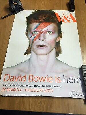 Ziggy Stardust - David Bowie Is Genuine London V & A Exhibition Poster • 109£