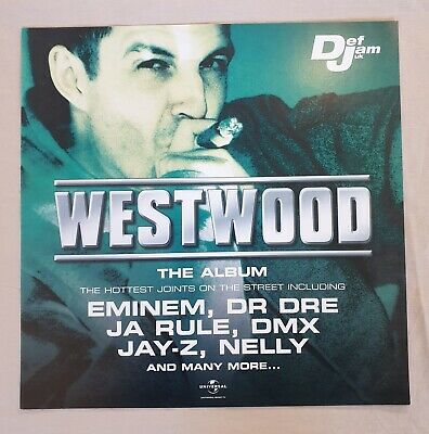 Westwood The Album Promo Poster Ultra Rare  • 17.95£