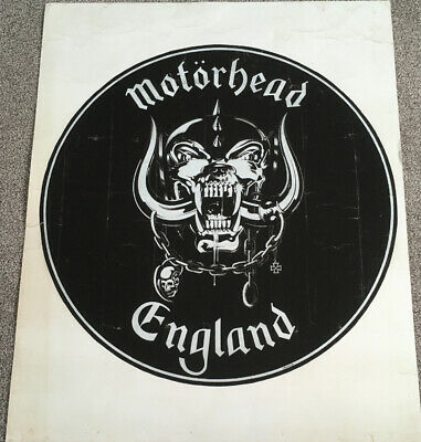 Motorhead Snaggletooth 1976 Poster - New Copy Punk Metal • 10£