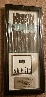 Linkin Park  Gold Record  Appreciation Award Issued To Tour Bus Company. Mint • 154.02£