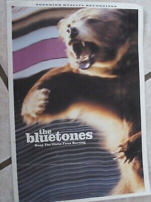 The Bluetones 'Keep The Home Fires Burning' Booklet • 3.99£