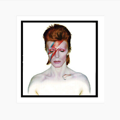 David Bowie - Aladdin Sane Album Cover 1973 - Official Print • 125£