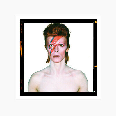 David Bowie - Aladdin Sane Eyes Open - 1973 - Official Print • 125£