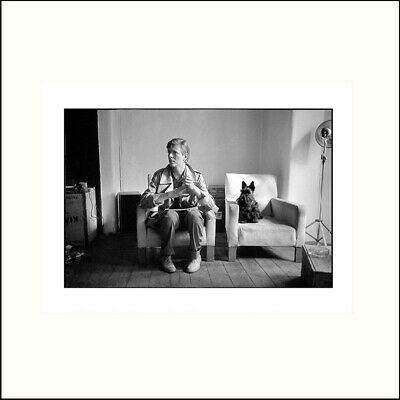 David Bowie - With Scottie Dog 1980 - Official Print  • 125£