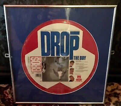 Rare BROS 'Drop The Boy' Original Picture Album Exquisitely Framed. • 26.99£