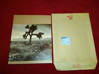 U2  The Joshua Tree 1987 Official Vintage Concert Tour Programme complete RARE • 79.99£