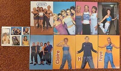 Official STEPS Photograph / Photo Cards / Stickers • 7£