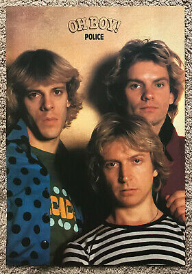 THE POLICE - 1982 Full Page UK Magazine Annual Poster STING • 3.95£