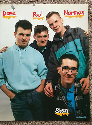 THE HOUSEMARTINS - 1980s Full Page UK Magazine Annual Poster • 3.95£