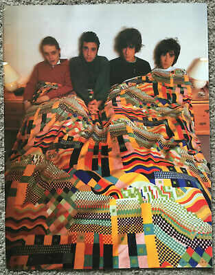 THE STONE ROSES - 1990s Full Page UK Magazine Poster • 3.95£