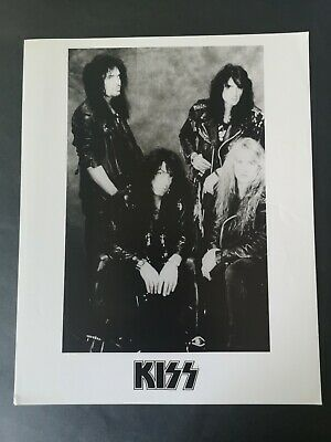 KISS Promo/Press Photo Date Stamped In The Back May 1994 • 12£
