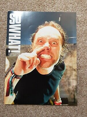 Metallica So What Magazine Volume 14 Issue 3 • 4.50£