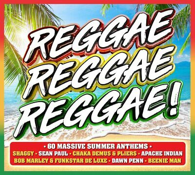 Reggae, Reggae, Reggae! [Audio CD] Various Artists New Sealed • 3.99£