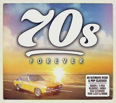 70s Forever [Audio CD] Various Artists New Sealed • 2.98£