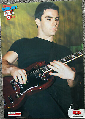 KELLY JONES ~ 1998 Full Page UK Magazine Poster STEREOPHONICS • 3.95£