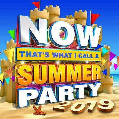 NOW That's What I Call Summer Party 2019 [Audio CD] Various Artists New Sealed • 3.29£