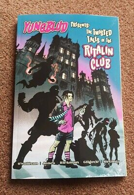 Yungblud Book Comic Collectible Twisted Tales Ritalin Club New • 22£