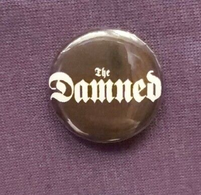 THE DAMNED 25mm Pin Badge NEW • 1.99£