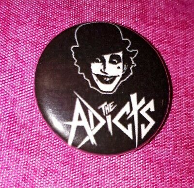 THE ADICTS Pin Badge 25mm NEW  • 1.99£