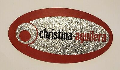 Original Vintage Sticker For Christina Aguilera's Debut Album-August 24, 1999 • 31.75£