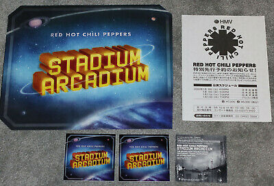 The Red Hot Chili Peppers RHCP - Memorabilia Lot - Flyer Stickers Poster • 12.56£