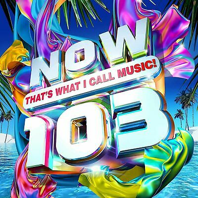 New Sealed  NOW THATS WHAT I CALL MUSIC 103   2 CD's 48 Tracks,2019. Free P+p • 4.85£