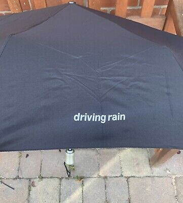 PAUL McCARTNEY ~ Driving Rain ~ Very Rare 2001 PROMOTIONAL Folding Umbrella ~NEW • 99.99£
