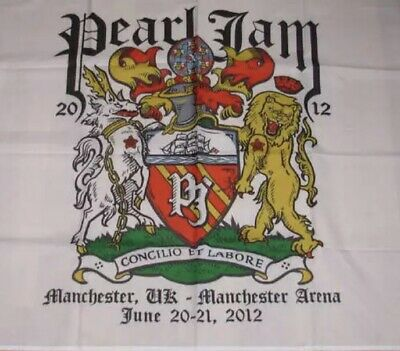Pearl Jam Concert Flag 2012 Manchester - Unopened • 45£