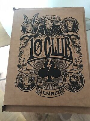 Pearl Jam Ten Club Member Pack 2014 - This Was Opened, But Hasn't Been Used • 20£