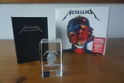 Metallica - Hardwired To Self Distuct 3cd Plus 3d Crystal • 100£