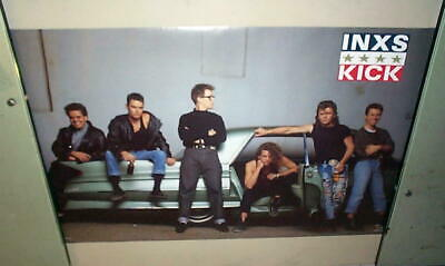 INXS Vintage Group 1987 POSTER  • 14.81£