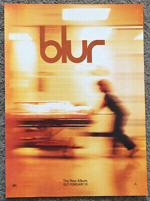 BLUR - BLUR 1997 Full Page UK Magazine Ad • 3.95£
