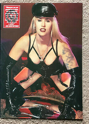 GENITORTURERS - 1993 Full Page UK Magazine Poster • 3.95£