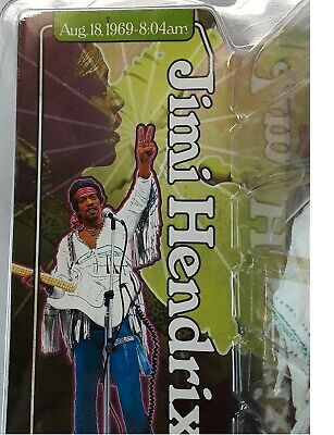 Jimi Hendrix Woodstock Sealed McFarlane  Action Figure   • 76.45£
