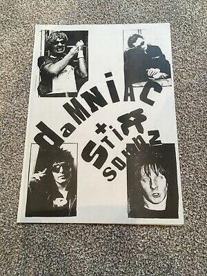 The Damned - Stiff Fanzines And Collectibles Pack - Punk • 5£