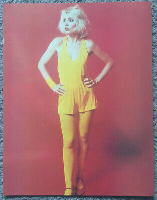 DEBBIE HARRY - 1980 Full Page UK Magazine Annual Poster BLONDIE • 3.95£
