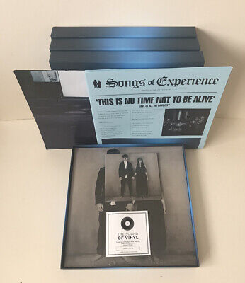 JOB LOT OF 4 BOX SETS - U2 Songs Of Experience Box Set 2LP & CD - NEW • 55£