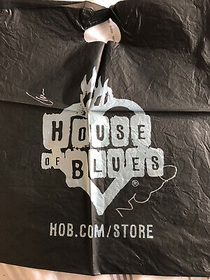 Oasis  Thé House Of Blues Carrier Bag Signed By Liam & Noel Gallagher • 18£