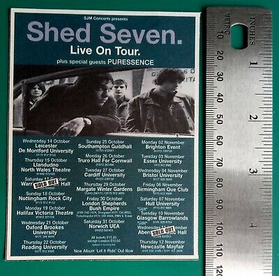 Shed Seven Memorabilia Clippings • 10£