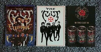 The Cult POSTCARDS - COLLECTION OF 3 Promotional POSTCARDS (Ian Astbury)  • 4.99£
