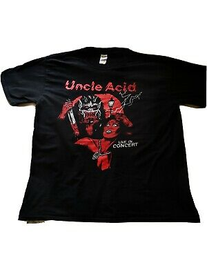 Vintage Uncle Acid 2015 European Tour Shirt Black XL Good Condition.  • 3.99£