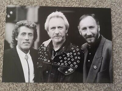 Official Press/Promo Photo For THE WHO 1989 • 4.99£
