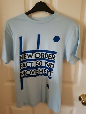 Mens New Order T-Shirt Small • 8£