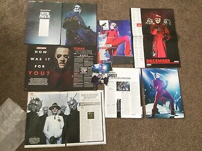 Ghost BC Tobias Forge Cuttings Clippings Set 2019-2020 Ideal For Your Scrapbook • 1.65£