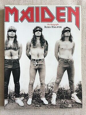 Iron Maiden Photo Book By Ross Halfin With Signed Dedication • 30£