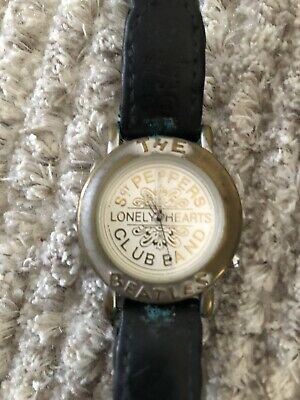 The Beatles Collectible Timepieces Watch Sgt Peppers Lonely Hearts Club Band • 8£