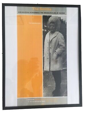 The Smiths Poster (with Frame) • 12£
