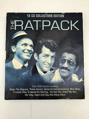 The Ratpack 12 CD Collectors Edition • 0.99£